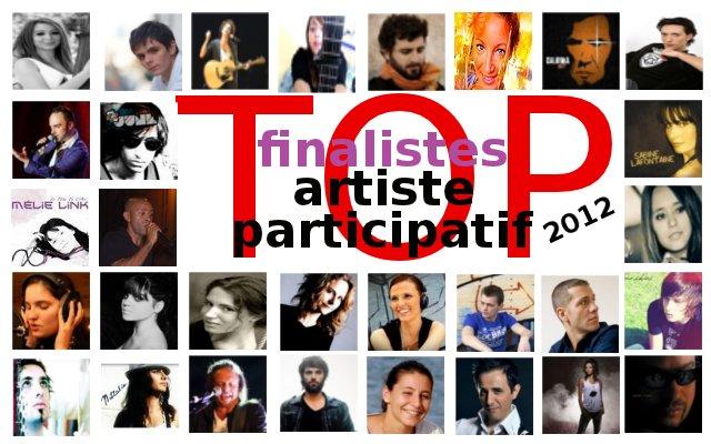 Finalistes Top Artiste Participatif