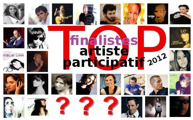 Finalistes du Top Artiste Participatif 2011