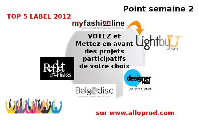 Top Label semaine 2