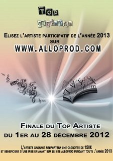 AlloProd - Finale du Top Artiste 2012