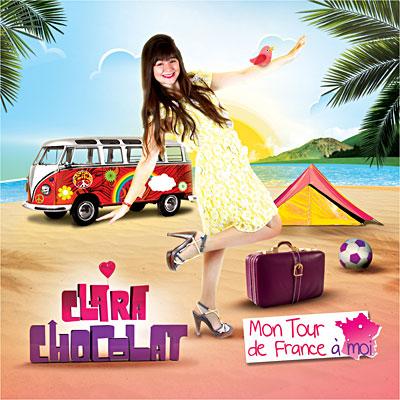 """""""Mon tour de France à moi"""" - Clara Chocolat"""