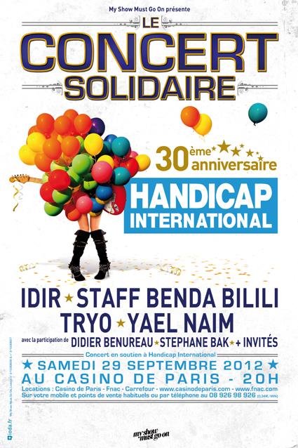 Le concert solidaire