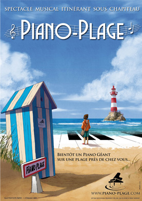 Spectacle Piano-Plage