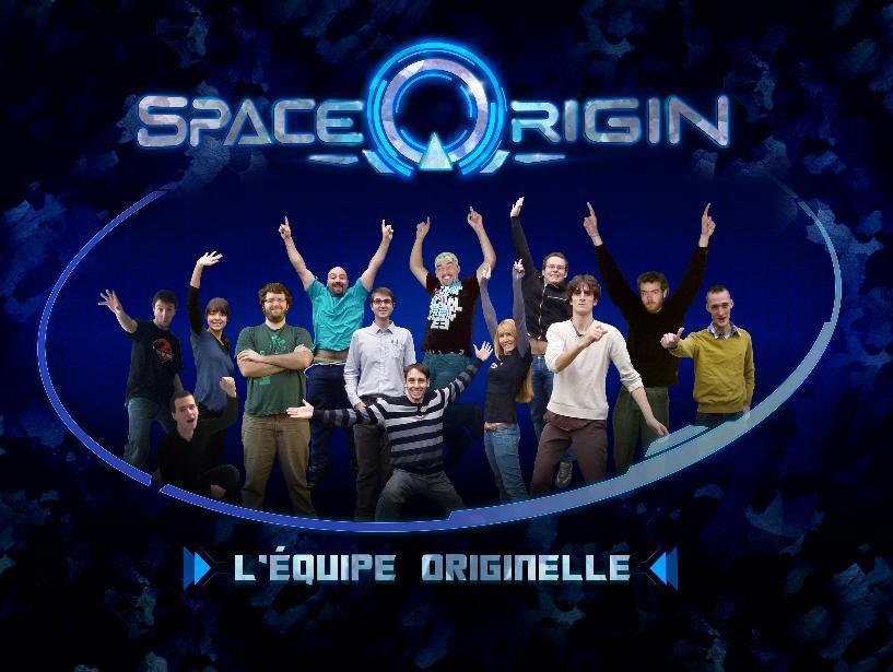Space Origin - L'équipe