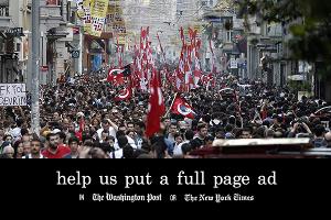Crowdfunding opposants turcs