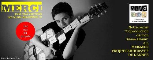 Olivier Zanarelli - 3ème projet d'album