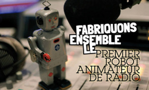 Animateur radio robot