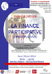 La finance participative - Journée d'étude