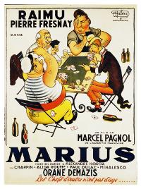 Affiche trilogie marseillaise