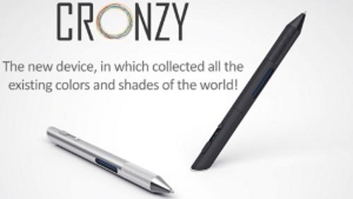 Cronzy, le stylo aux 16 millions de couleurs